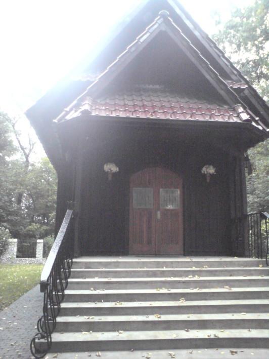 Kaplica Czarnej Madonny w Lasku Mogilskim.